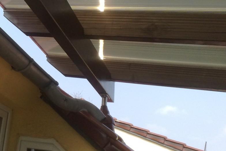 Dachterrasse Halle Detail