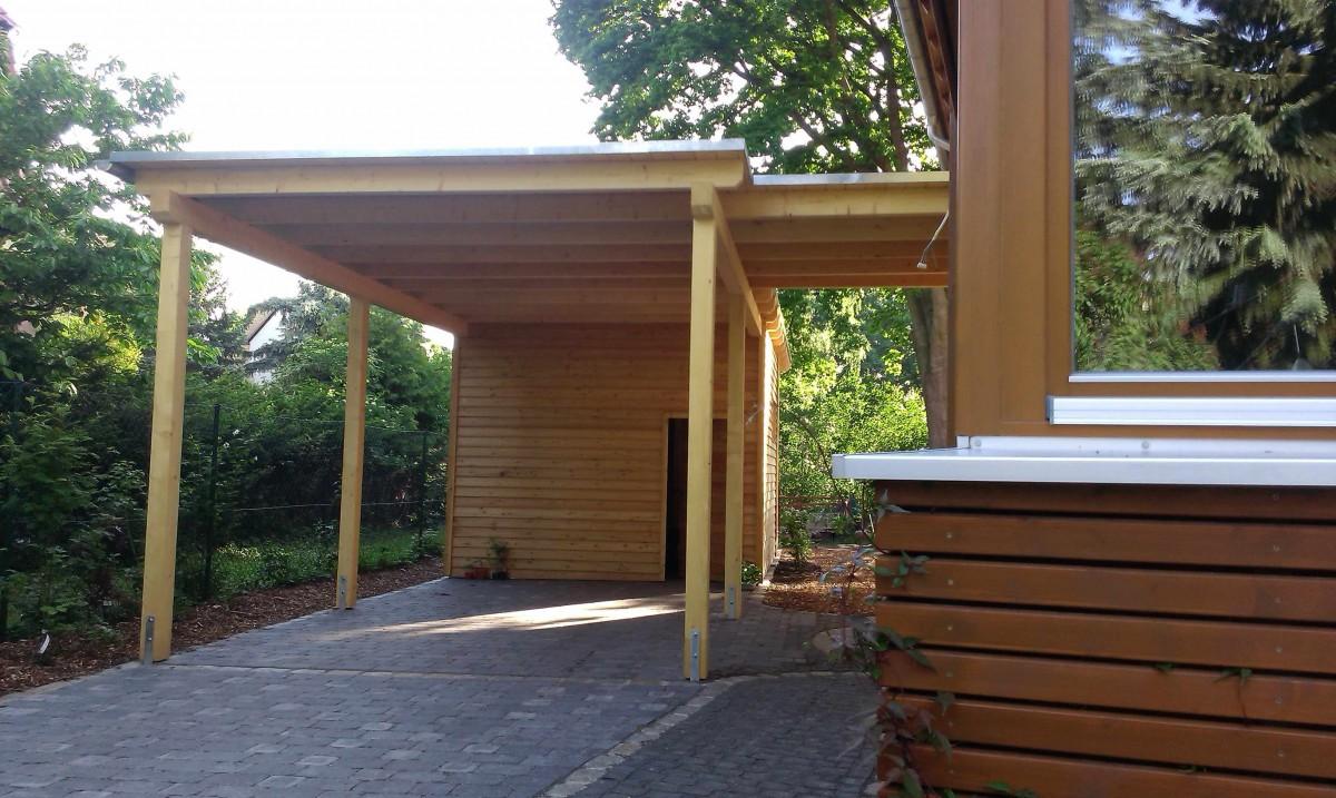 carport halle kr llwitz bauen mit holz. Black Bedroom Furniture Sets. Home Design Ideas